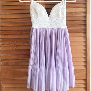 Short Strapless Prom Dress w/ Sweetheart Neckline